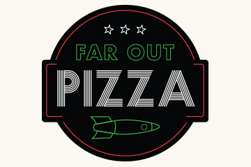 FAR Out Pizza logo