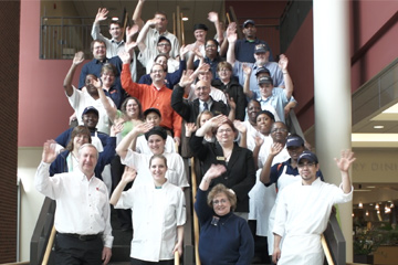Dining staff group photo