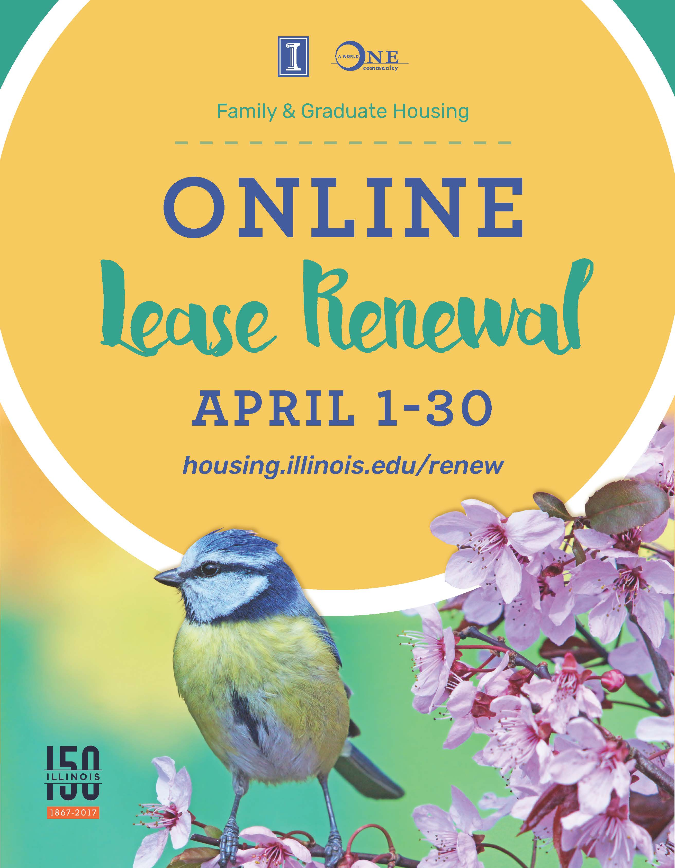 lease renewal poster