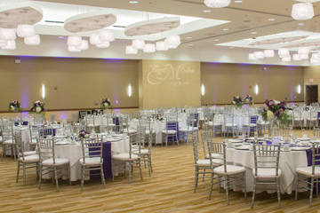 I Hotel wedding reception