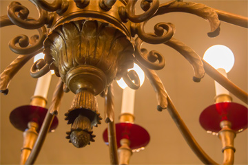 Colonial Room chandelier