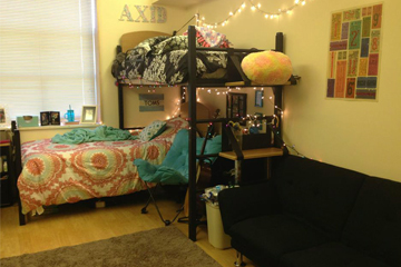 Nugent Hall resident room