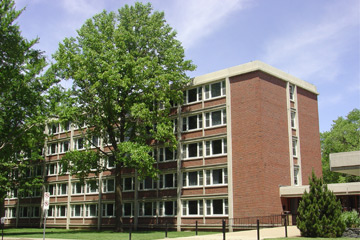 Exterior of Sherman Hall