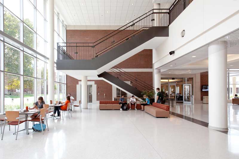 Student Dining and Residential Programs Building Interior