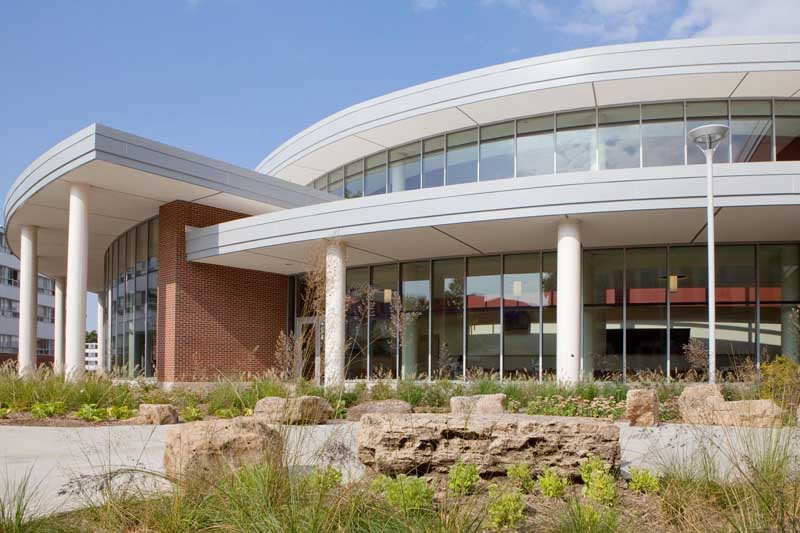 Student Dining and Residential Programs Building Exterior
